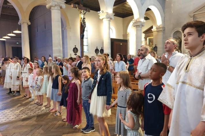 У парафіяльній церкві міста Венсенн уперше відслужили Божественну Літургію св. Івана Золотоустого французькою мовою