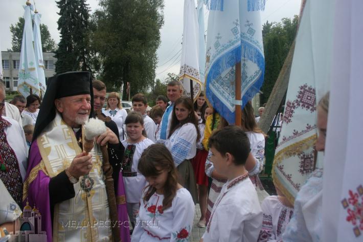 Двохсотсорокарічний ювілей храму відзначили в Сокальсько-Жовківській єпархії