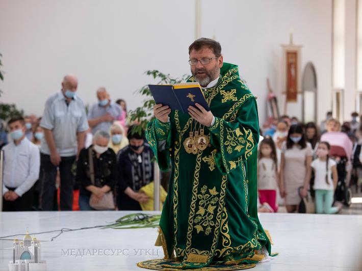 «Хай Дух Святий, якого ми сьогодні одержуємо, змінить найперше кожного з нас», – Глава УГКЦ у неділю П'ятдесятниці