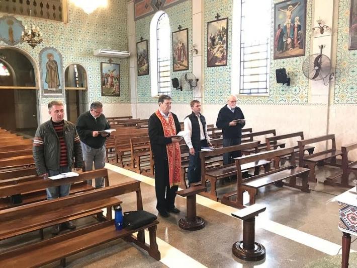 Зустріч духовенства УГКЦ в Аргентині