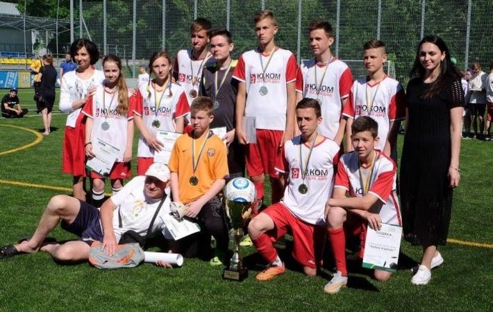 У Києві відбувся найбільший юнацький чемпіонат із вуличного футболу «Кубок Карітасу 2017»
