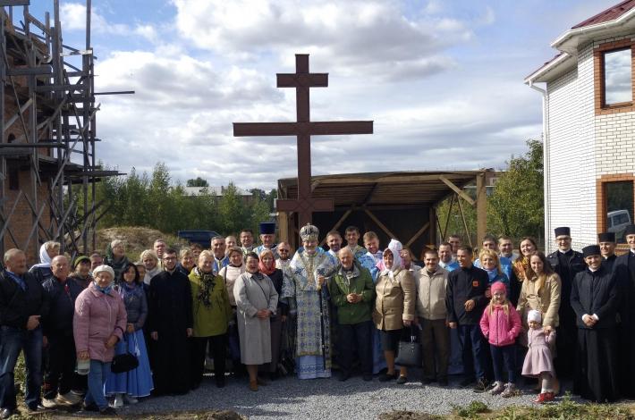 Єпископ Йосиф Мілян на Вінниччині освятив наріжний камінь для нового храму УГКЦ