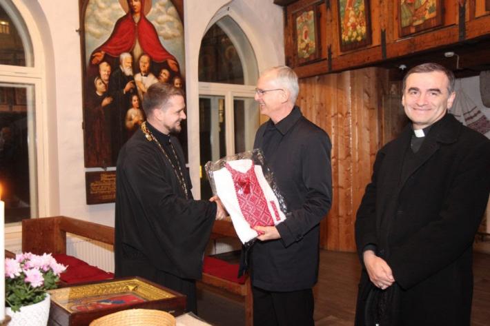 Апостольський нунцій в країнах Балтії архиєпископ Петар Раїч завітав до талліннської парафії УГКЦ