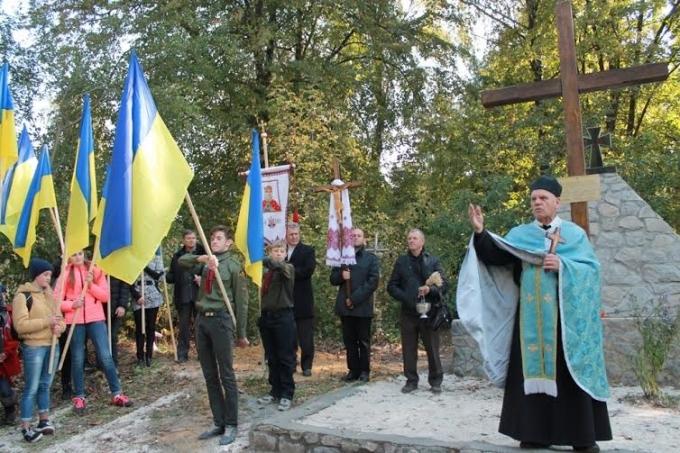 У м. Бар освятили відновлену могилу воїнів УГА