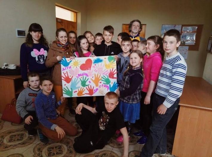 Великодні канікули дітей із Сходу в Галичині