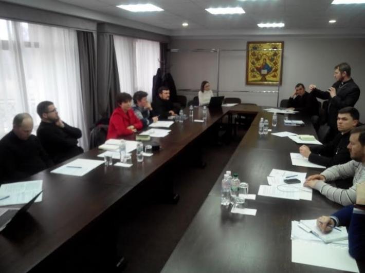 У Патріаршому домі у Львові відбулася зустріч єпархіальних голів Комісії УГКЦ у справах мирян