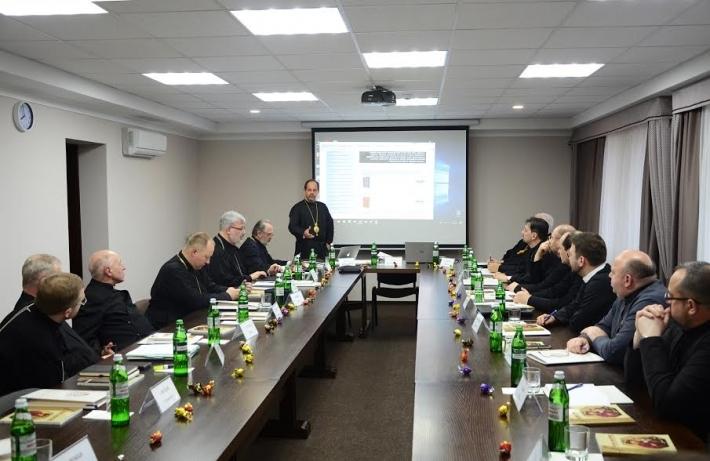 У Патріаршому домі у Львові розпочалося щорічне засідання Патріаршої комісії у справах духовенства