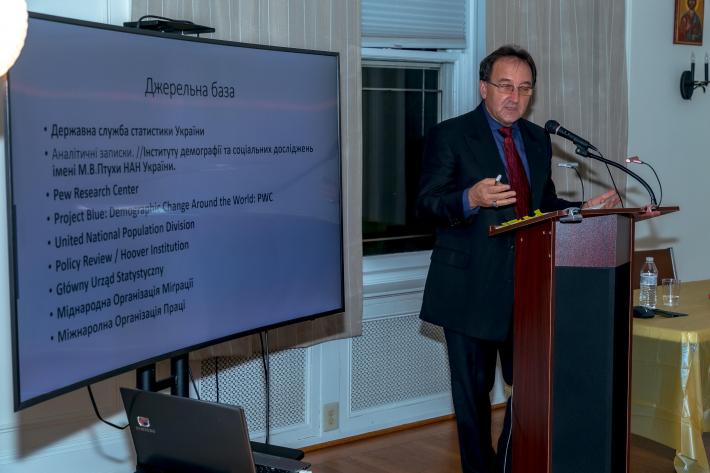 Про сучасні демографічні тенденції в Україні говорили у Філадельфії
