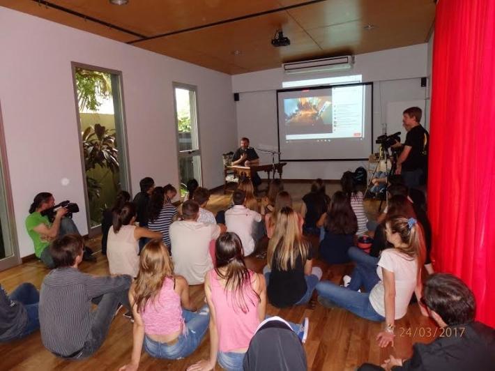 Блаженніший Святослав зустрівся із молоддю провінції Місіонес, Аргентина