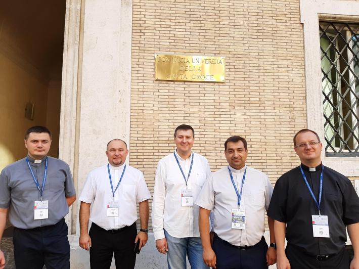 У Римі працівники церковних трибуналів УГКЦ вивчають оновлення канонічного права