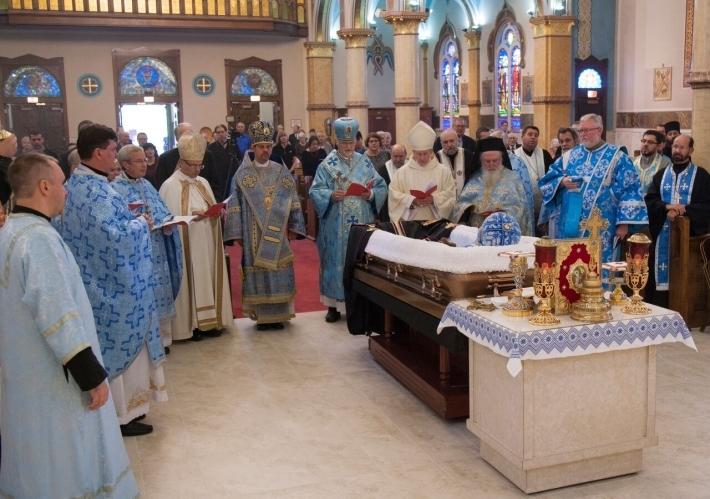 Владику Річарда (Семінака) поховають у штаті Пенсильванія