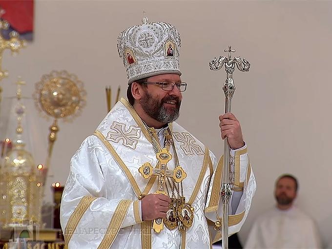 Глава УГКЦ на Воскресіння Христове: «Гасло «Герої не вмирають» є пасхальною піснею українського народу»
