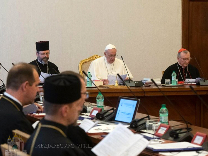 Слово Папи до Глави, Постійного Синоду та митрополитів УГКЦ