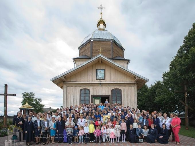 У Жужелянах відсвяткували 125-річчя Згромадження Сестер служебниць Непорочної Діви Марії