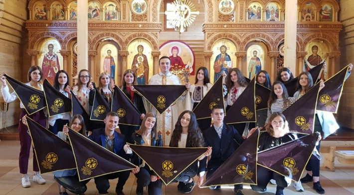 Спільнота «Українська молодь – Христові» прийняла нових членів