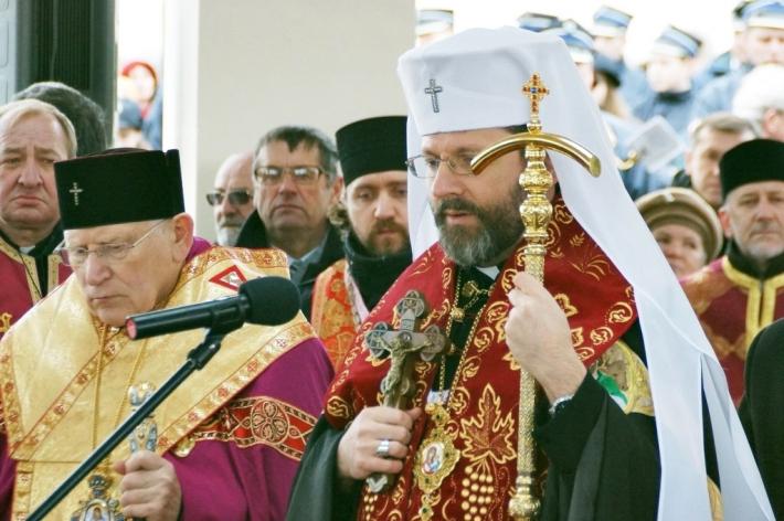 Блаженніший Святослав привітав владику Івана Мартиняка одразу з трьома ювілейними датами