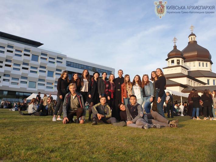 Греко-католики Вінниці взяли участь у фестивалі Вітер На-Дії