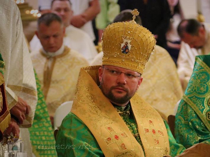 Владика Степан Сус на Трійцю: «Наше покликання – свідчити про Бога своїм життям і вчинками»