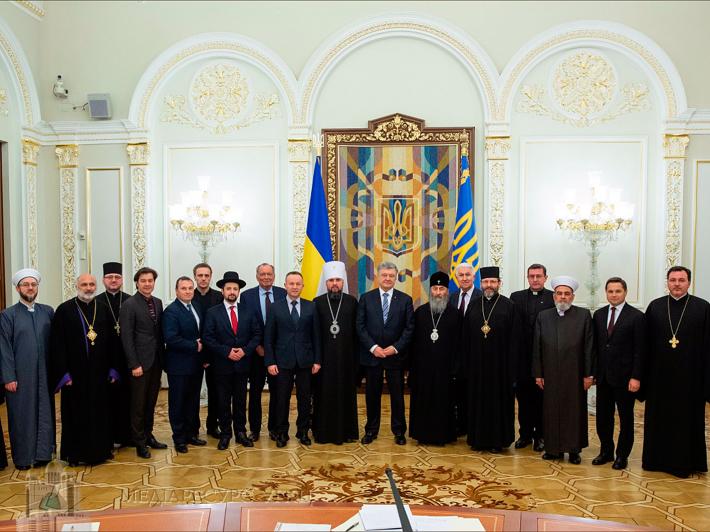 Глава УГКЦ на зустрічі Президента з ВРЦіРО: «Для нас важливо, щоб держава зберегла свій світський характер»