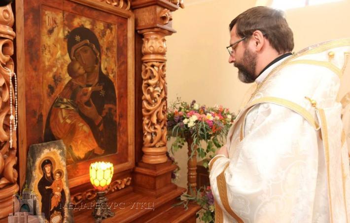 В УГКЦ проголосили собор Вишгородської Богородиці Марійським відпустовим центром Києво-Галицької митрополії