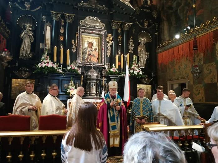 Сьогодні греко-католики Польщі та України звершують духовне паломництво до Ченстохови на Ясну гору