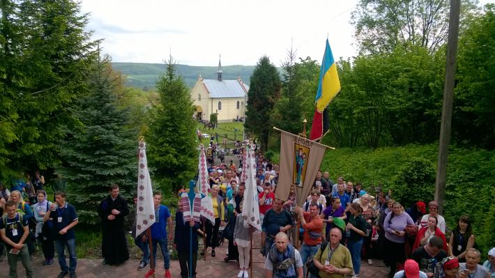 До Унева провели прощу, присвячену 150-річчю від народження блаженного Климентія Шептицького