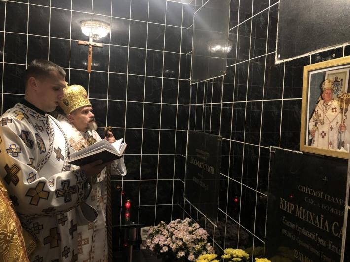 У Зарваниці вшанували пам'ять першого Тернопільсько-Зборівського єпарха Михайла Сабриги