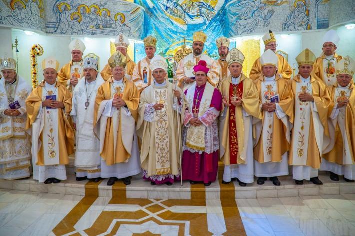 Владика Йосафат Мощич взяв участь у хіротонії єпископа Яссів (Румунія)