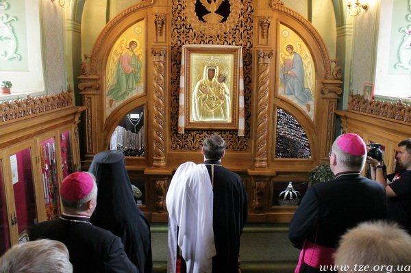 У Римі перебуватиме копія чудотворної ікони Зарваницької Матері Божої