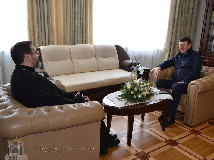 Блаженніший Святослав зустрівся з Генпрокурором Юрієм Луценком