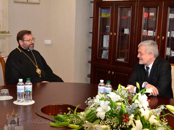 Глава УГКЦ під час зустрічі із Послом Республіки Польща в Україні: «Без вільної України немає вільної Польщі і навпаки»