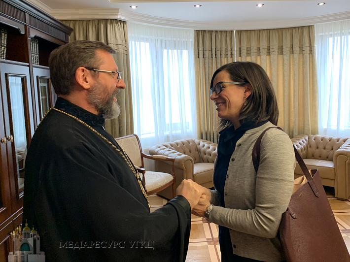 Глава УГКЦ зустрівся з Послом Канади в Україні