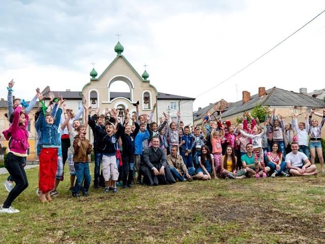 У Бродах відбувся еколого-християнський табір «Божий Дивосвіт»