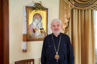 Staying at home we still remain Christ Church, - bishop Yosyf Milyan