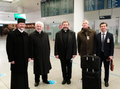 The Head of the UGCC arrived in Munich to enthrone the new Apostolic Exarch for Ukrainian Greek Catholics in Germany and Scandinavia