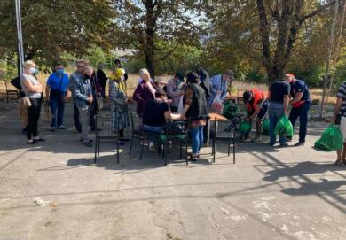 У Вознесенську (Миколаївська область) відбулася благодійна акція «Нагодуй голодного»