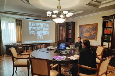 Под руководством Блаженнейшего Святослава состоялся второй этап синодальной деятельности онлайн