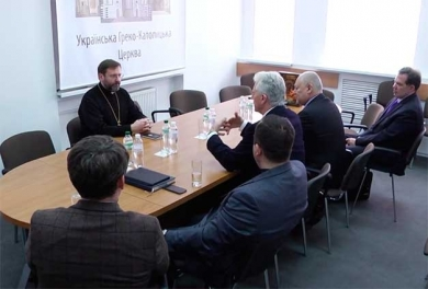 The Head of the UGCC His Beatitude Sviatoslav met with the US delegation