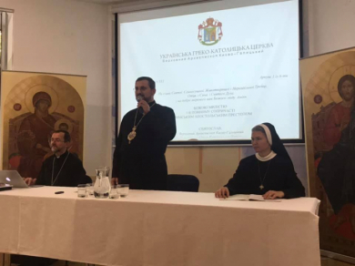 A meeting of Patriarchal Curia Commission on Monasticism with diocesan officials and high superiors of monastic congregations of the UGCC held in Odesa