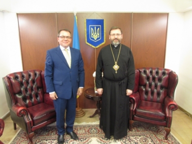 Head of the UGCC and Ambassador of Ukraine in Argentina discussed cooperation of diplomats with the communities of the UGCC