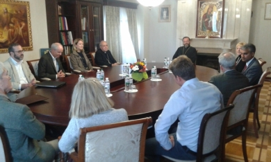 Head of the UGCC met with representatives of the Catholic Relief Service