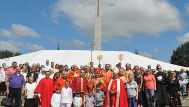 Eparchy of St. Josaphat in Parma (USA) Held an Annual Pilgrimage to the Shrine of the Holy Cross