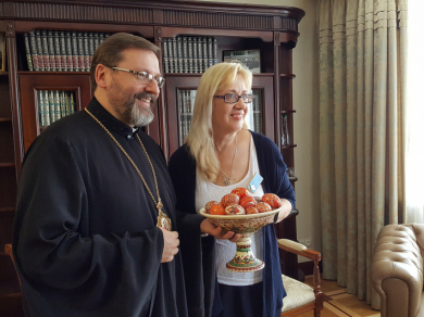 У Києві з Главою УГКЦ уперше разом зустрілися Ліга греко-католицьких жінок України та Ліга католицьких жінок Канади