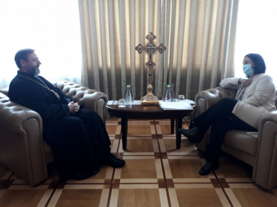 The Head of the UGCC met with Extraordinary and Plenipotentiary   Ambassador of Spain to Ukraine