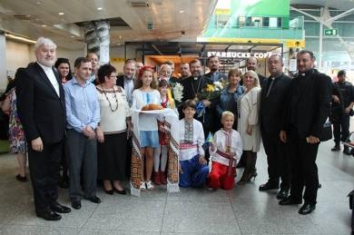Ukrainians from Portugal met Head of the UGCC