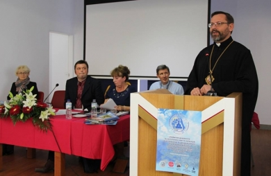 His Beatitude Sviatoslav Head and Father of UGCC visited migrants of UGCC from Central and West Europe while visiting Fatima in Portugal