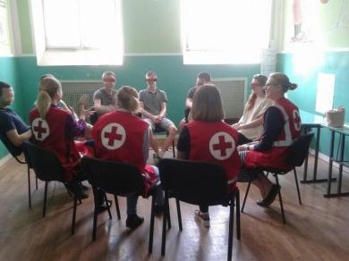 Волонтери Товариства Червоного хреста України розпочали програму для неповнолітніх у Київському слідчому ізоляторі