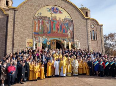 «Ця парафія є символом відродження, зцілення, а також свідком воскресіння Української Церкви у США», — Блаженніший Святослав у Чикаго