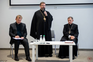 The Church has realized that it is necessary to be primarily a community, not an institution. It is such Church that young people need,- the Head of the UGCC