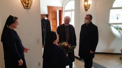 Bishop Bohdan Dziurakh arrived in Munich
